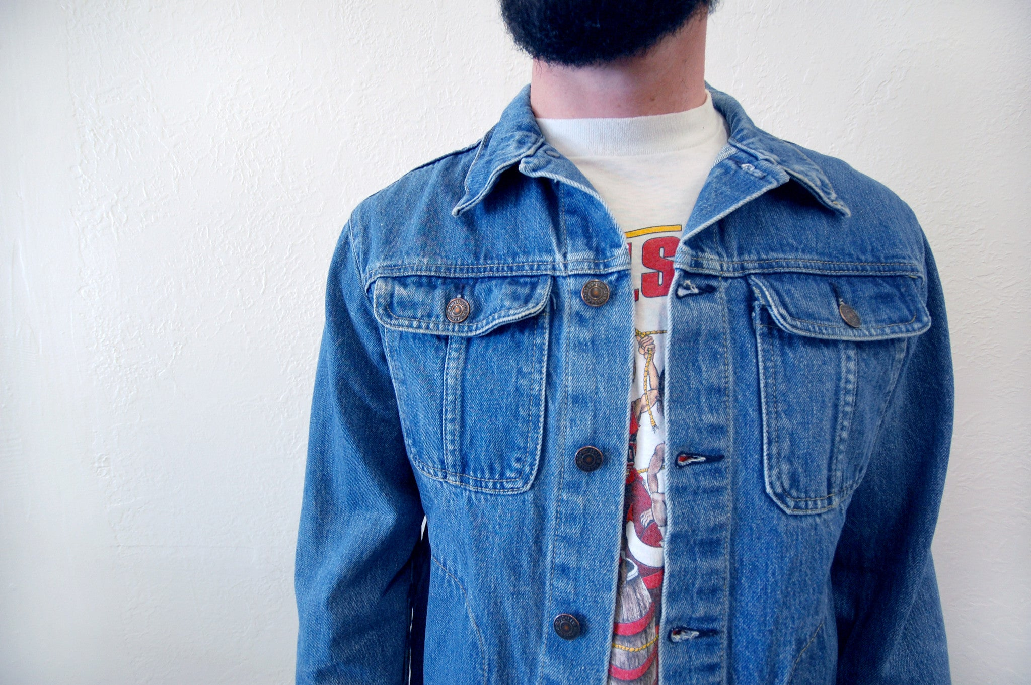 Vintage Levi's Denim Chore Jacket