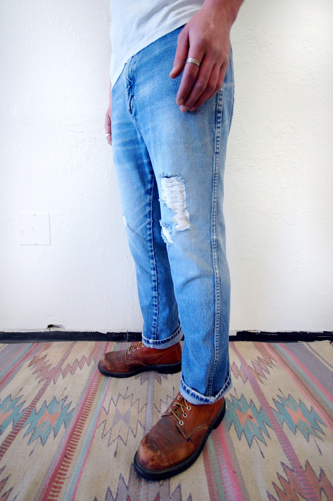 Vintage Wrangler Boot-Cut Denim