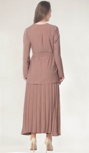 Amani Simple Modest Tunic - Dusty Rose