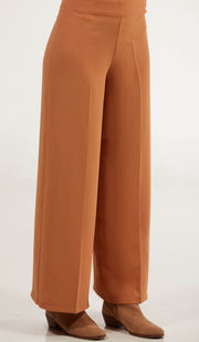 Arifa Tailored Wide Leg Pants - Spice