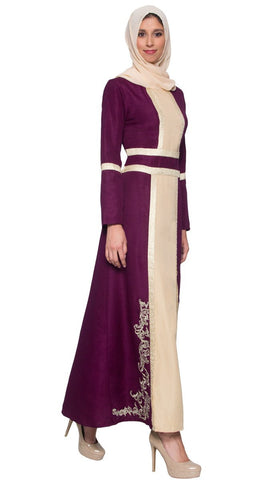 Stylish Long Sleeve Modest Formal Muslim Evening Dresses Artizara