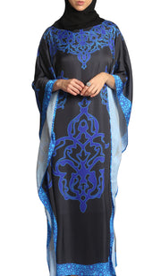 Bushra Formal Kaftan Abaya Dress