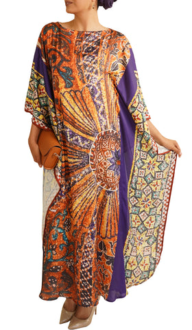 Cadira Formal Kaftan Abaya Dress