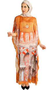 Calafia Formal Kaftan Abaya Dress