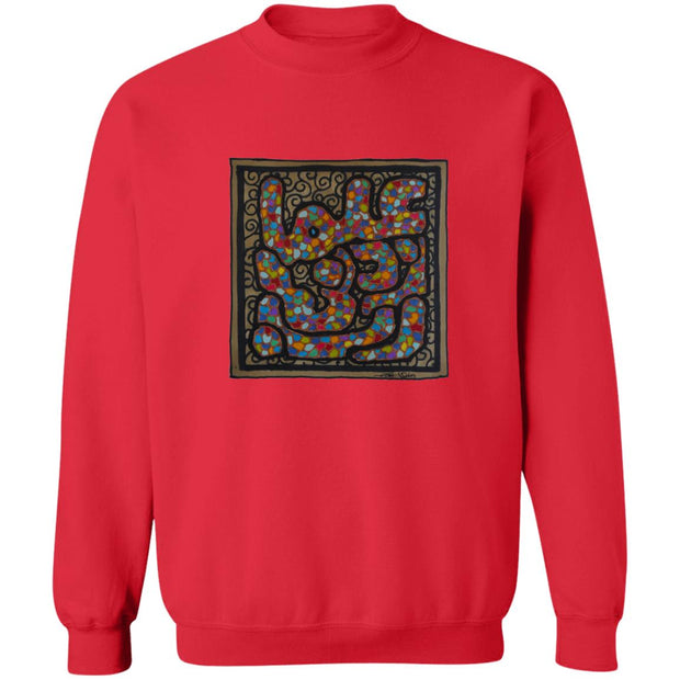 Pullover Sweatshirt with Arabic Calligraphy - Rabbi Zidni Ilma (ربِّ زِدْنِي عِلْماً)
