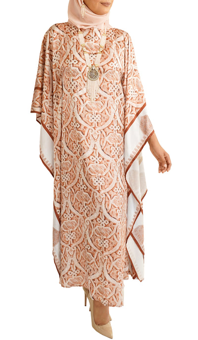 Hamra Formal Kaftan Abaya Dress