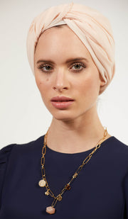 Hera Modern MashAllah Arabic Necklace-Moonstone