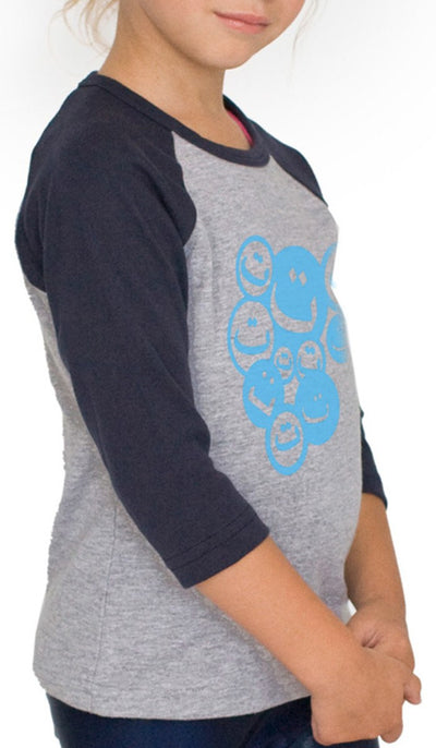 Kids Smiley Designer Islamic Tee - ARTIZARA.COM