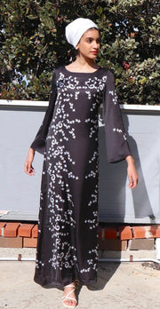Love Formal Modest Abaya Dress Kaftan - Black