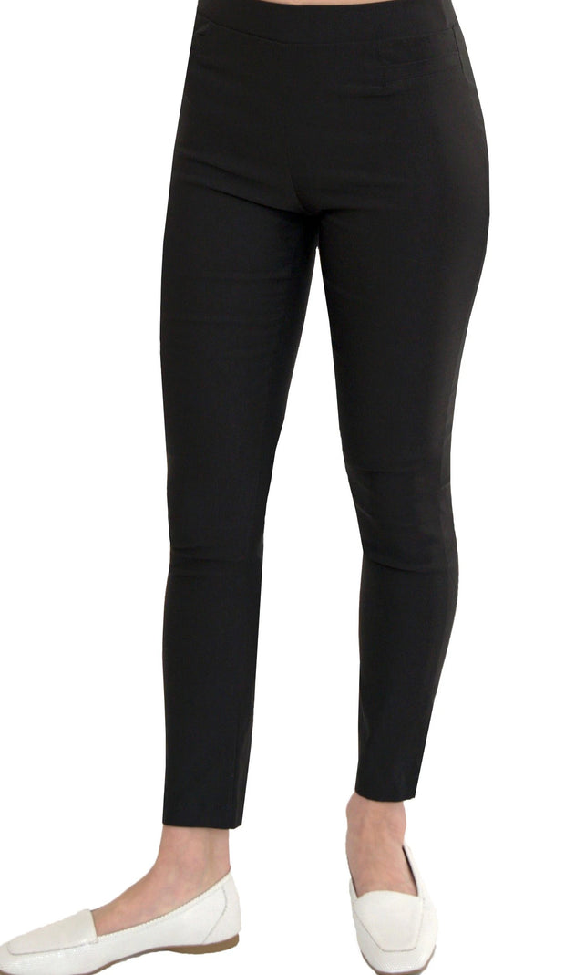 Millenium Comfortable Stretch Dressy Pencil Jegging - Black