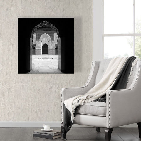 Fes, Morrocco Arch Ready to Hang Arabic Islamic Canvas