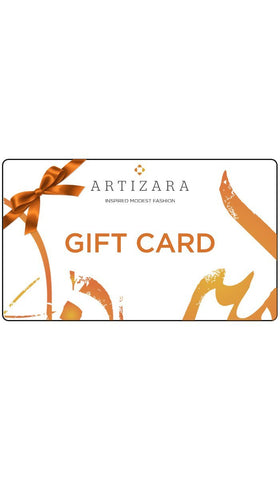 Artizara Gift Card - Choose your Amount