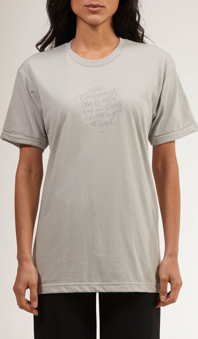 Rumi Quotes Fine Short Sleeve Unisex T Shirt - World - Gray