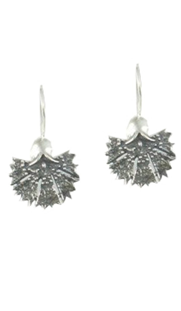 Sterling Silver Turkish Tulip Earrings (small) - ARTIZARA.COM