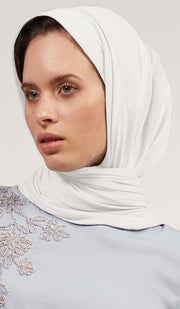 Soft Everyday Jersey Wrap Hijab - Cream