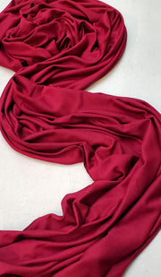 Soft Everyday Jersey Wrap Hijab - Maroon