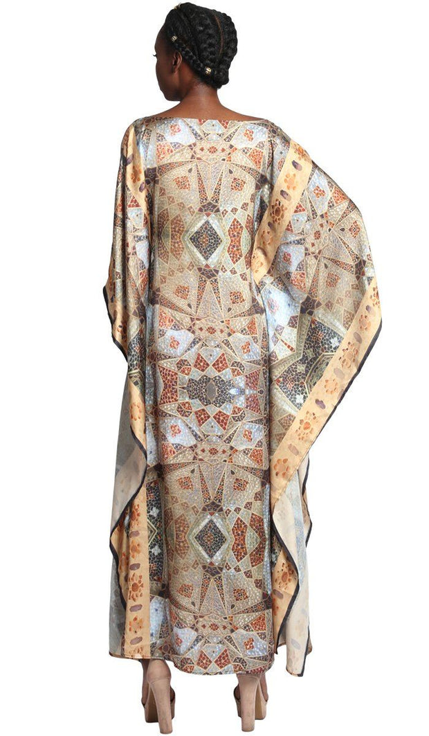 Zeba Formal Kaftan Abaya Dress