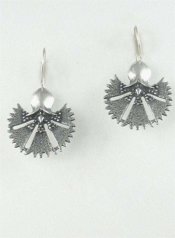 Sterling Silver Turkish Tulip Earrings (medium)
