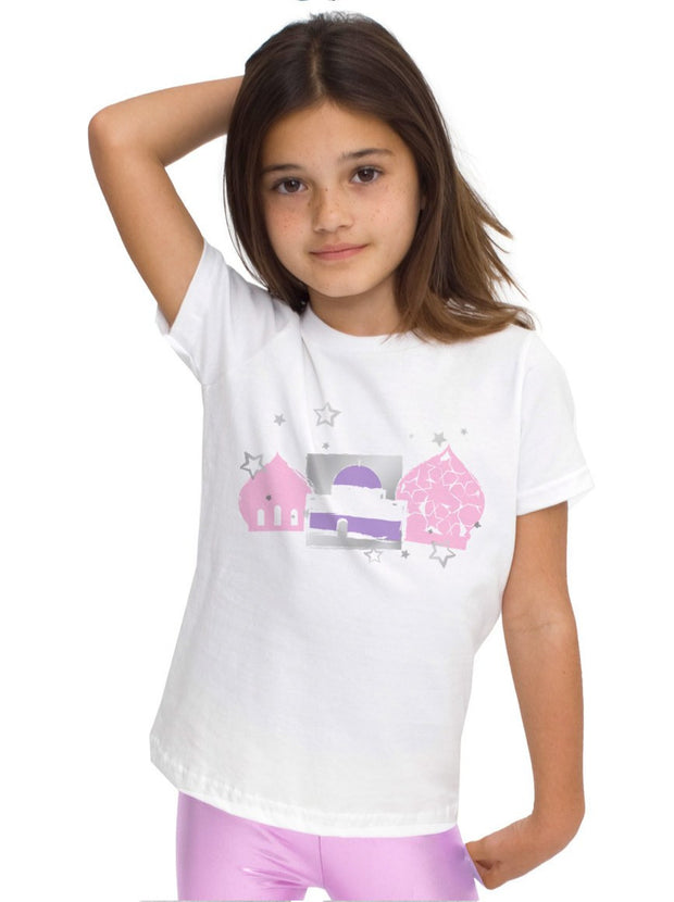 Girl's Palace Designer Islamic Tee-USA YOUTH 2 YEARS (24 in./61 cm.)Garment Chest