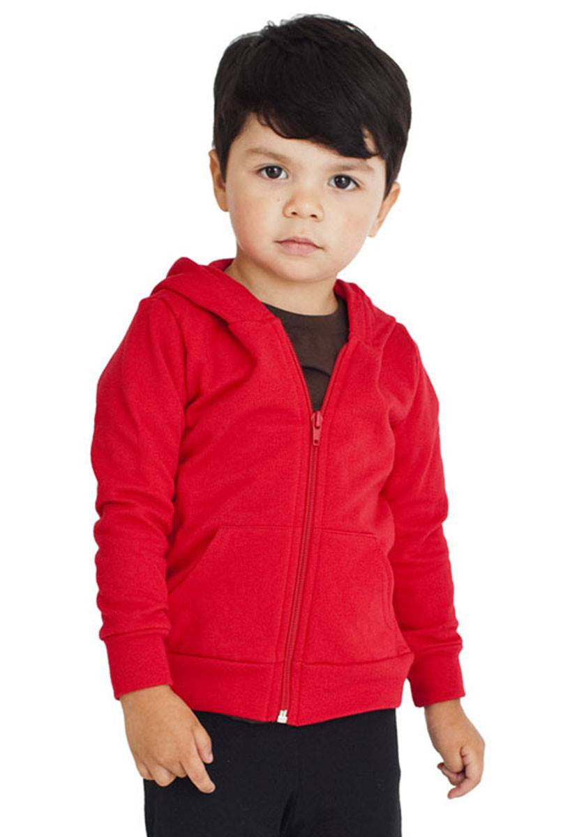 Kid's Script Designer Islamic Zip Hoodie-USA KIDS 2 YEARS (24 in./61 cm.)Garment Chest-Charcoal