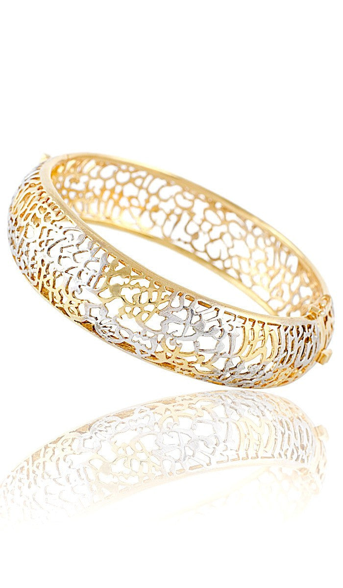 bangles yellow thegoldsmith accents silver bracelet with bangle bracelets products and cuff ss sterling gold