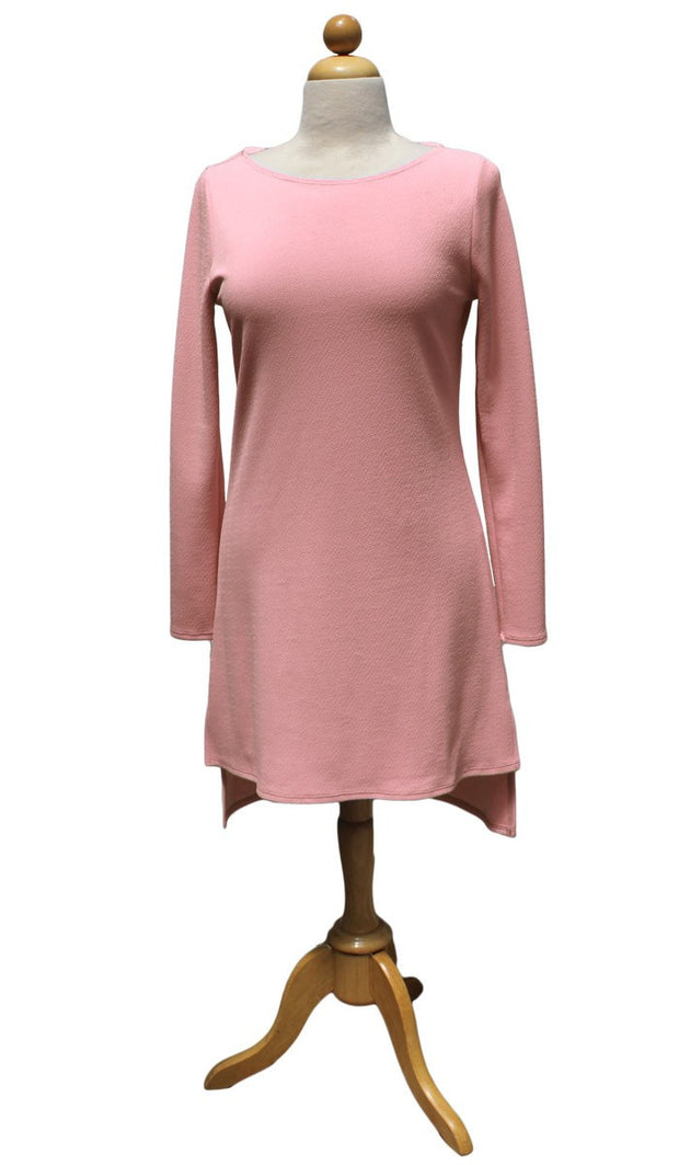 Zeela Stylish Everyday Long Tunic  - Blush - ARTIZARA.COM