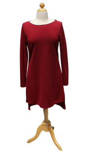 Zeela Stylish Everyday Long Tunic - Maroon - ARTIZARA.COM