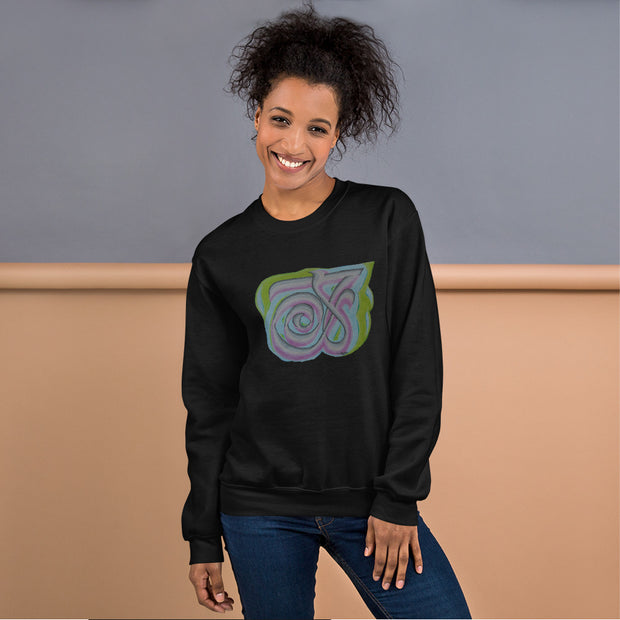 Pullover Sweatshirt with Arabic Calligraphy - Compassion (رحمة)