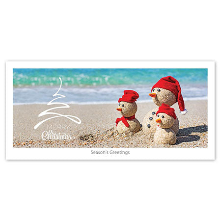 Seasons Greeting Card - Sandmen