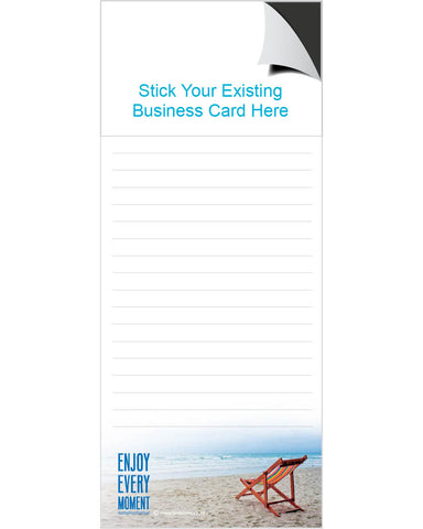 Magnetic Note Pad - Enjoy Every Moment