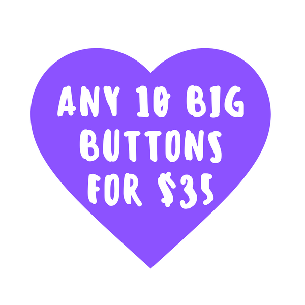 Button deal - Ten 2.25 inch buttons