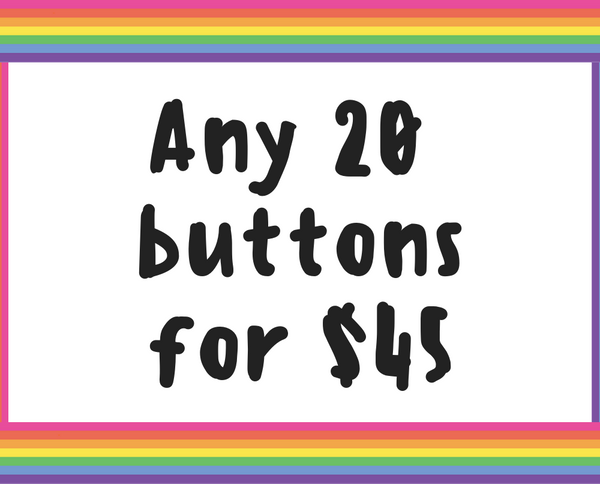 Button deal - Twenty 1.25 inch buttons