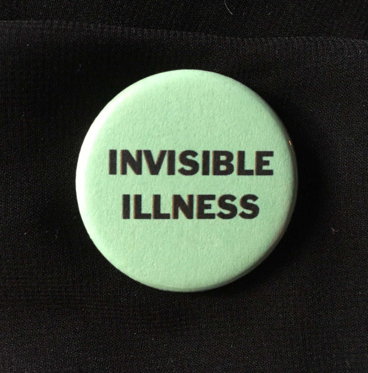 Invisible illness button - Radical Buttons