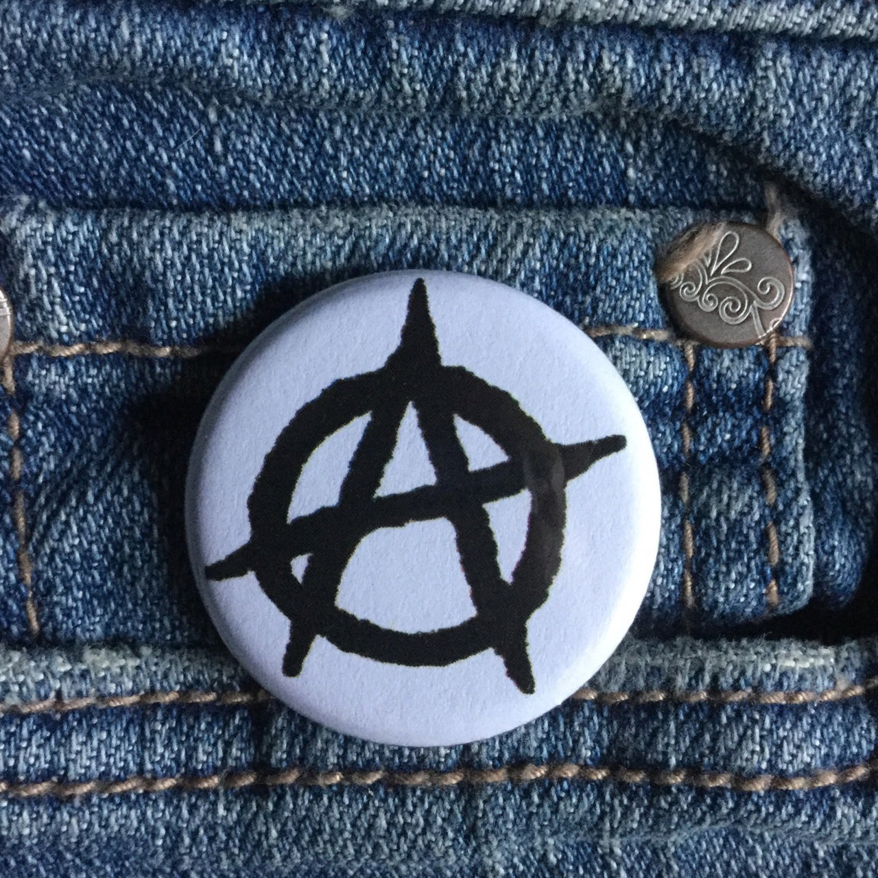 Anarchist A - Radical Buttons