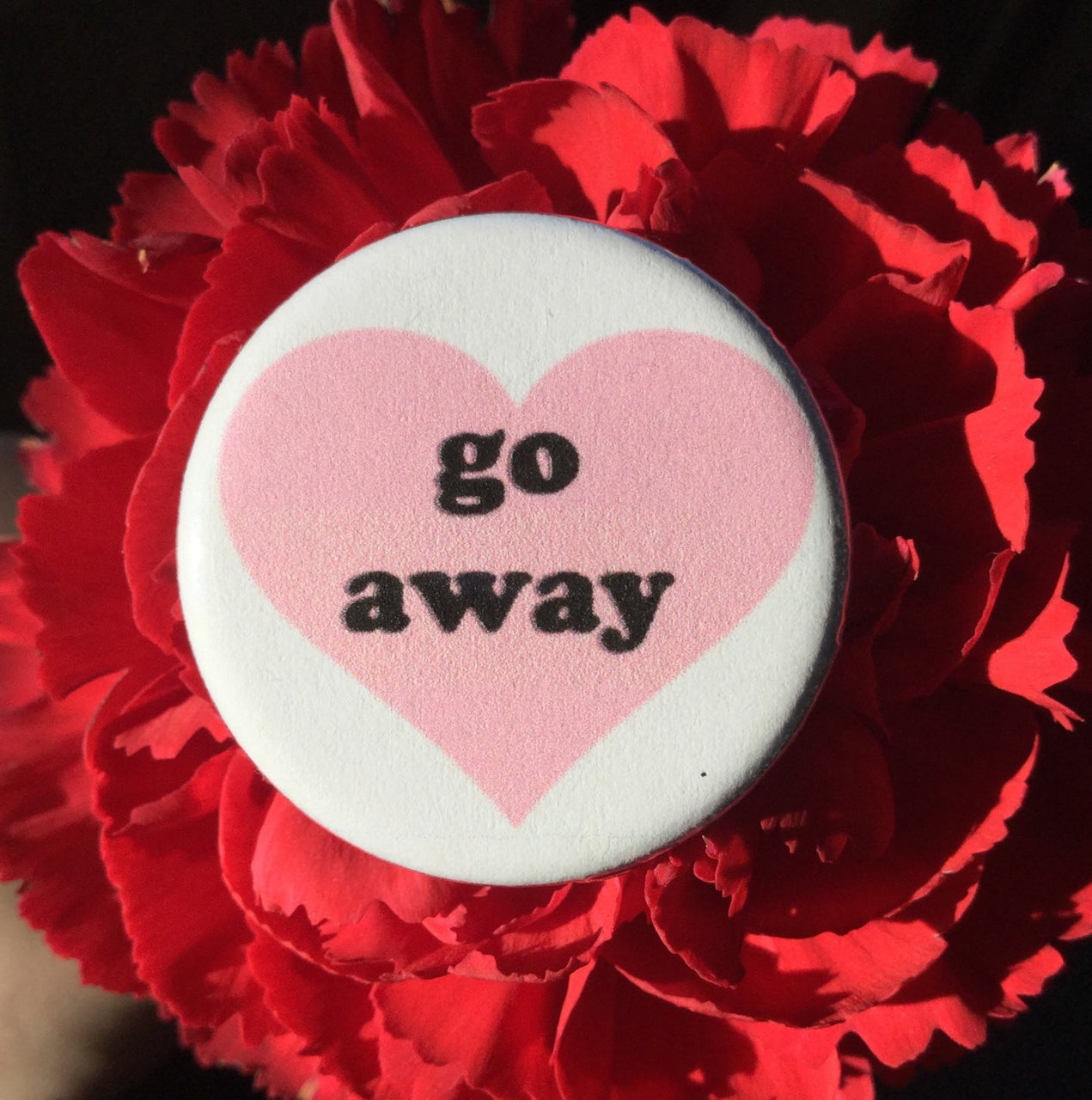 Go away button - Radical Buttons