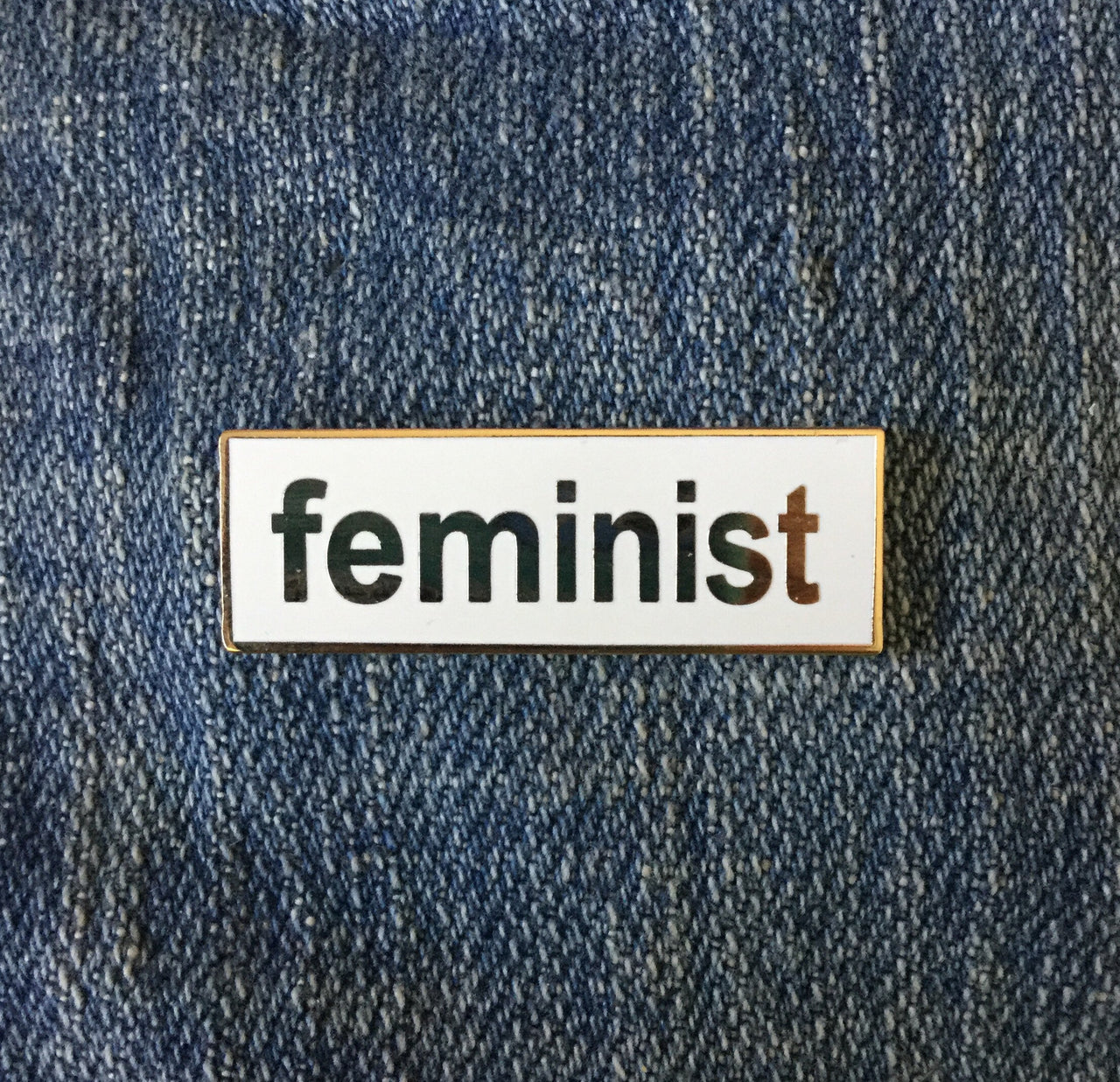 Feminist enamel pin - Radical Buttons