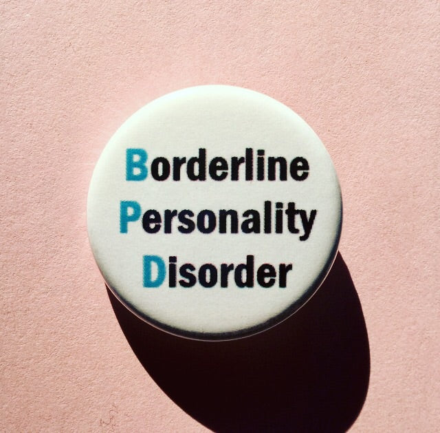 Borderline personality disorder - Radical Buttons