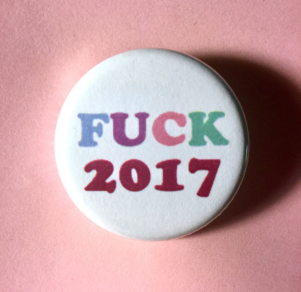 Fuck 2017 - Radical Buttons