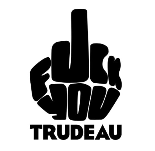 Fuck you Trudeau decal - Radical Buttons