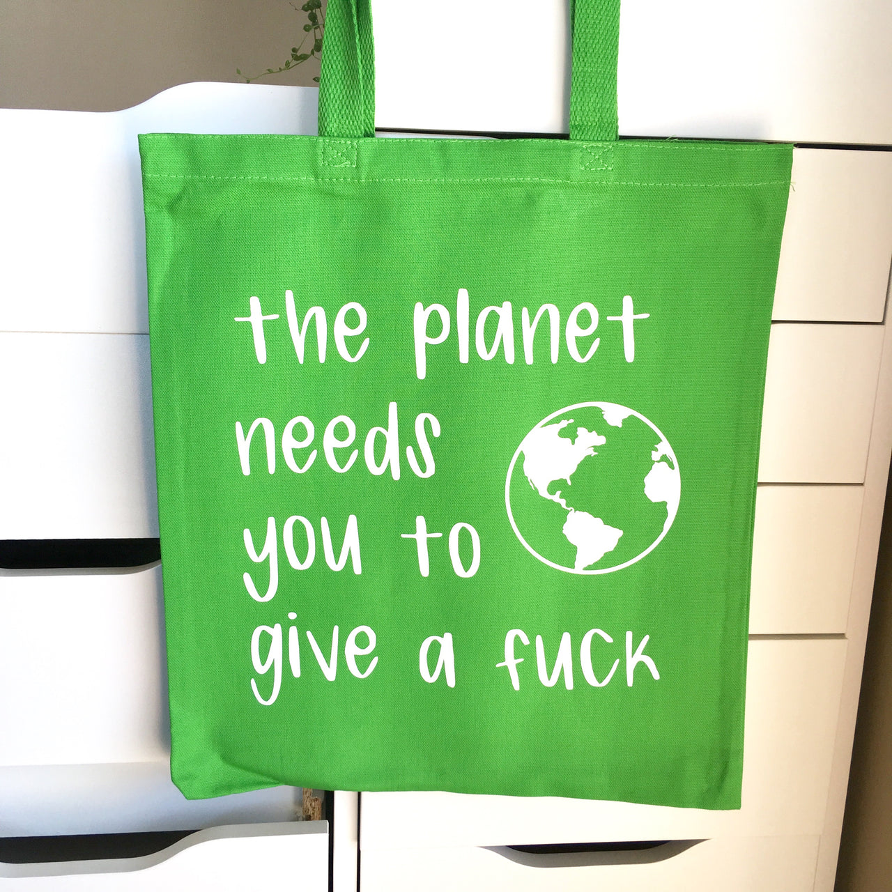Environmental justice tote bag - Radical Buttons