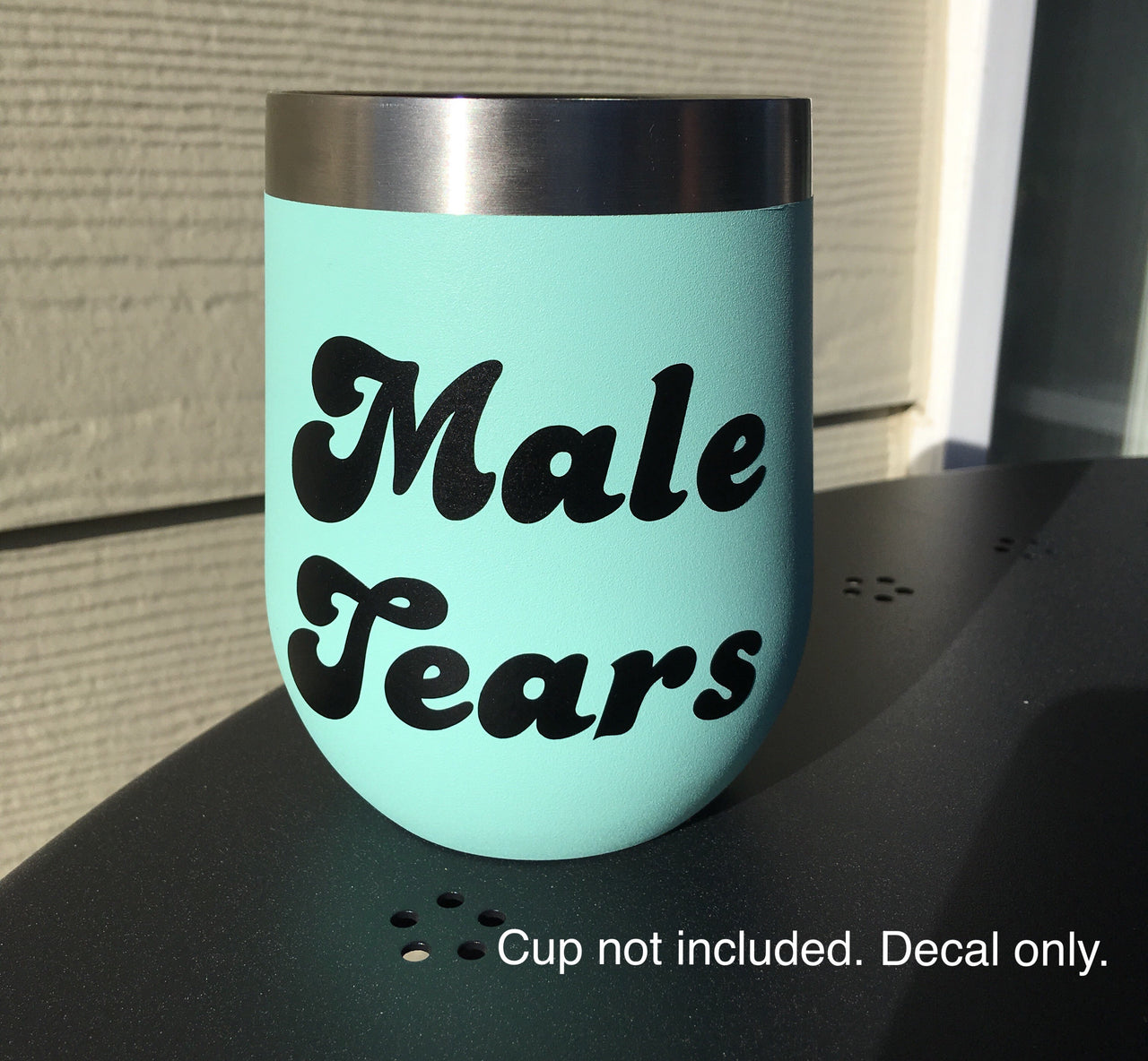Male tears vinyl decal - Radical Buttons
