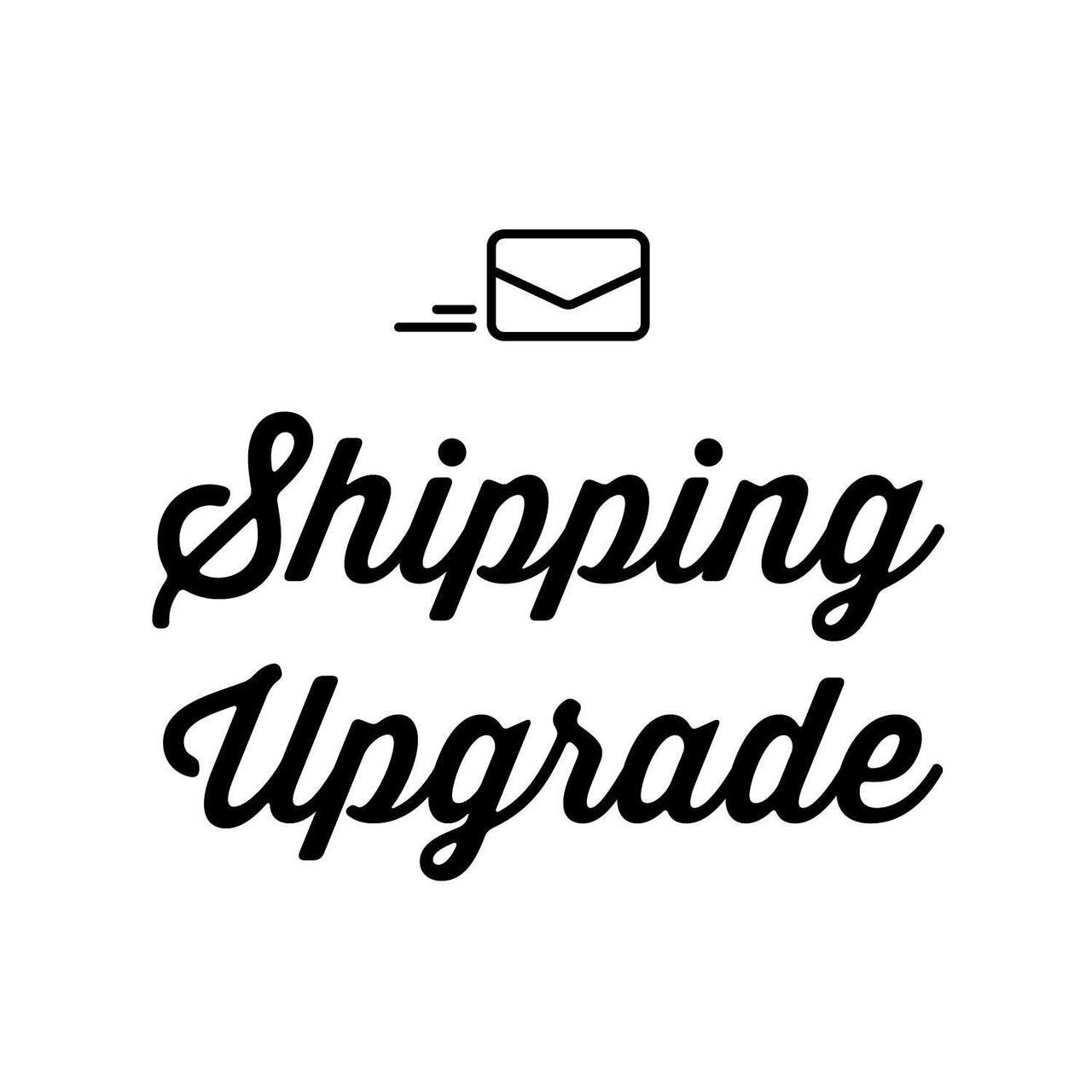 Shipping upgrade - Radical Buttons