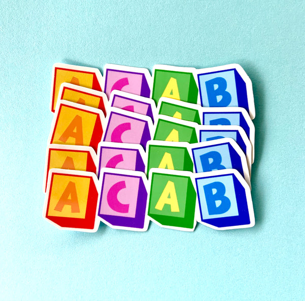 Acab stickers (pack of 5!)