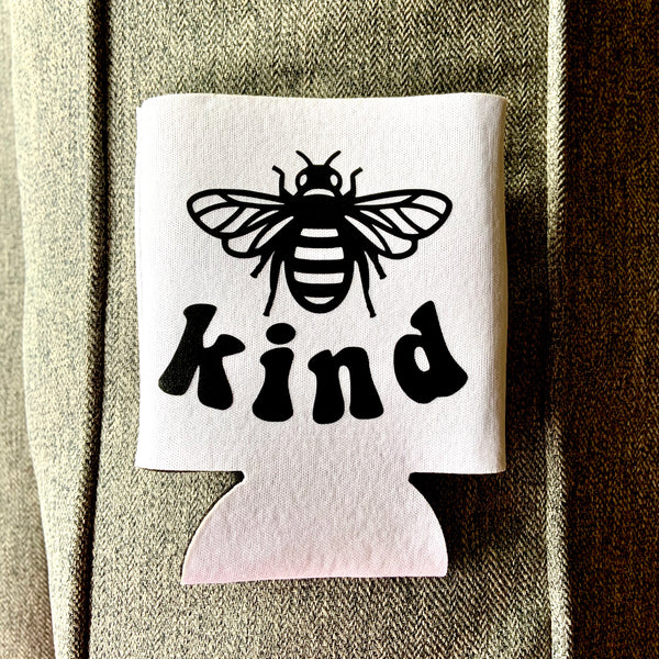 Bee kind can cooler