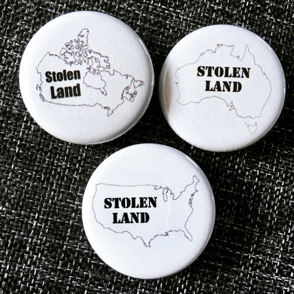 Stolen land - Radical Buttons