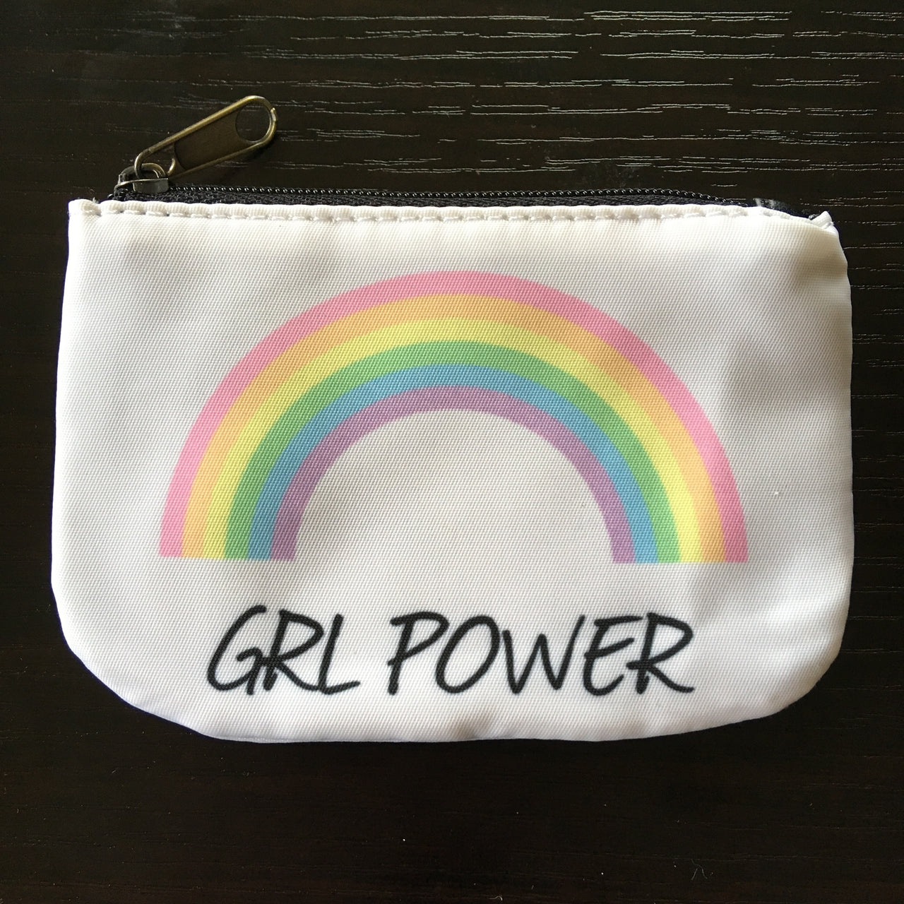 Grl power coin purse - Radical Buttons