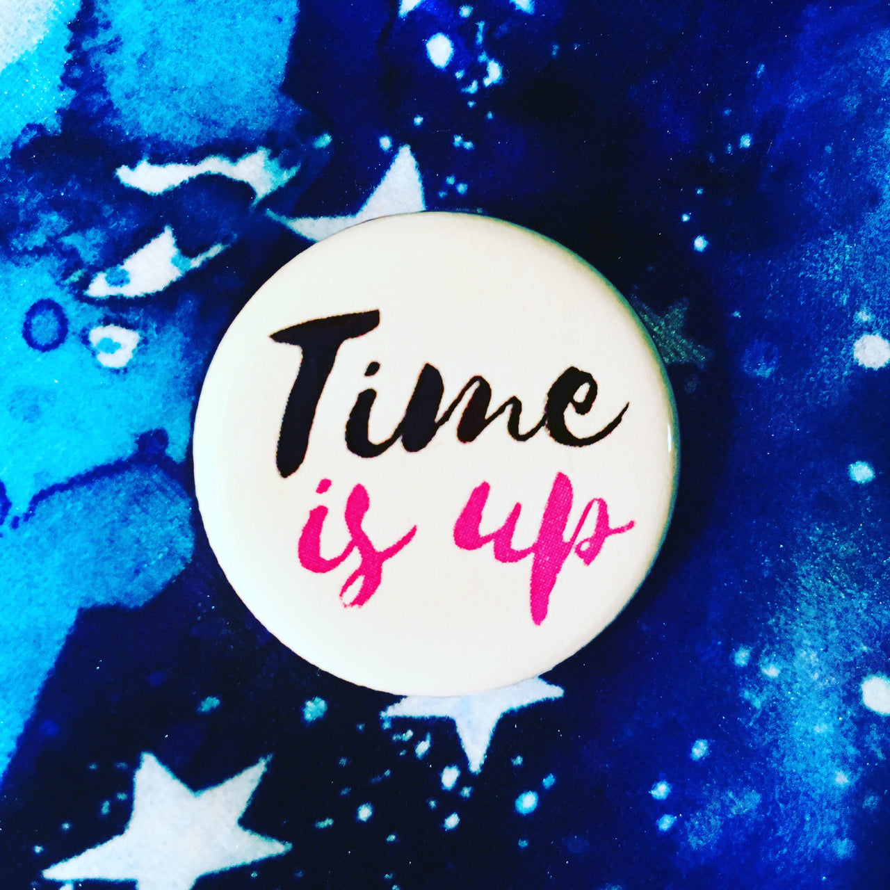 Time is up - Radical Buttons
