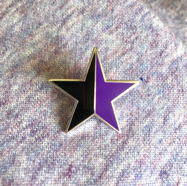 Anarcha-feminism enamel pin - Radical Buttons