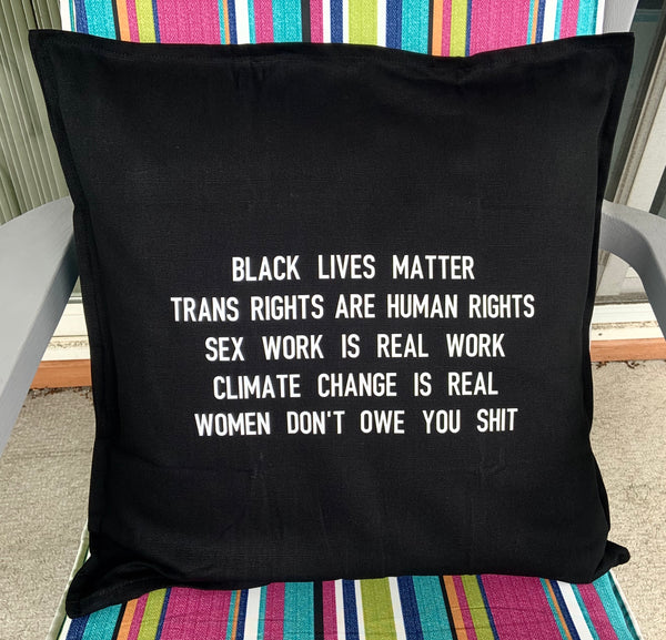 Black lives matter pillowcase