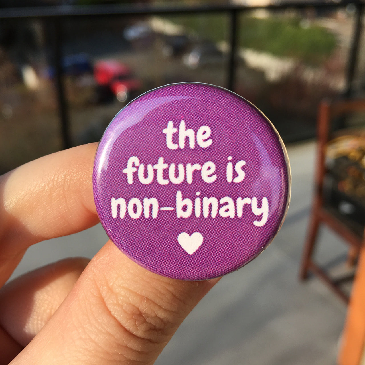 The future is non-binary - Radical Buttons